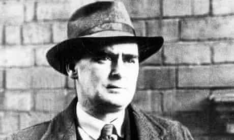 The Irish comic writer Flann O'Brien
