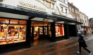 Waterstone's book shop in 2010