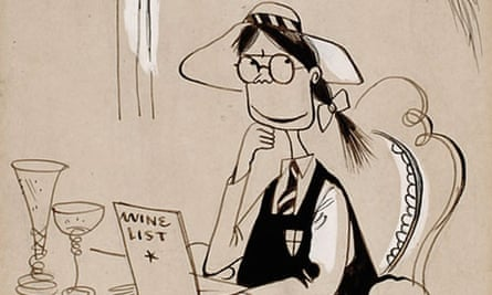 Detail of a St Trinian's illustration
