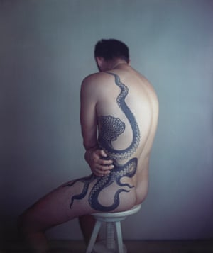 Richard Learoyd's <em>Man with Octopus Tattoo II</em> (2011) by Richard Learoyd