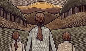 Clifford Harper illustration for Review