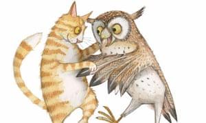 Emily Gravett illustration from 101 Poems for Children by Carol Ann Duffy