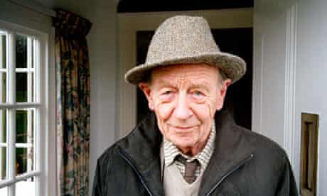 Author – and new Nobel prize for literature front-runner – William Trevor at home in Exeter.