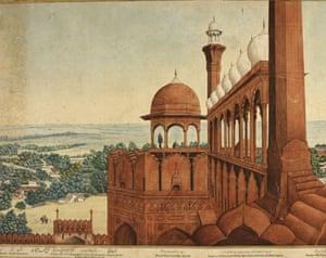 A Panorama of Delhi painted in 1846