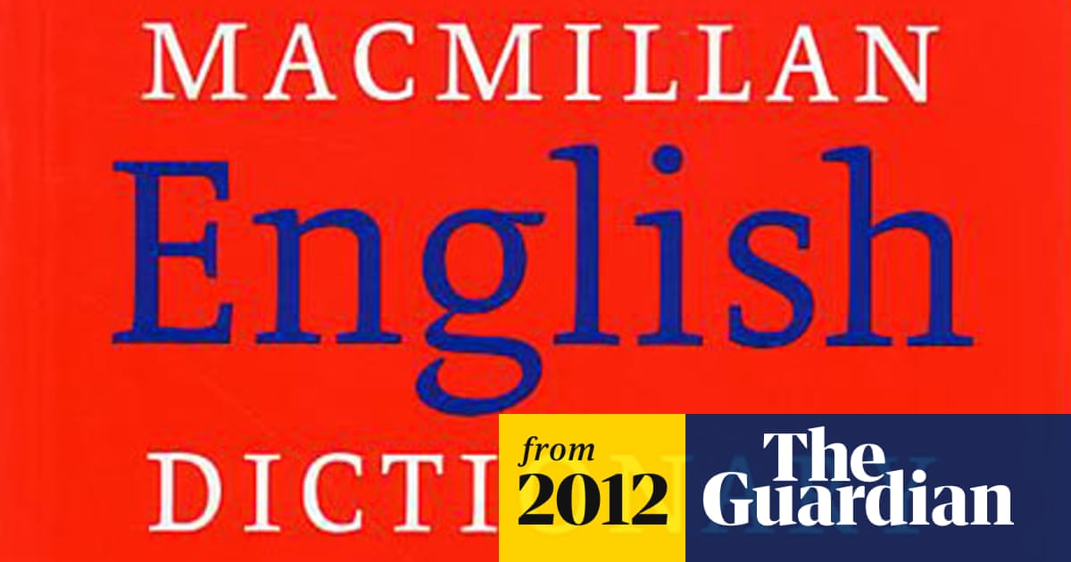 Macmillan Dictionary to go digital after publisher announces