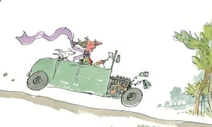 Image from The Quentin Blake Treasury by Quentin Blake