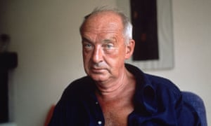 Vladimir Nabokov in Switzerland in 1975, two years before his death