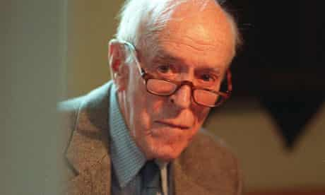 A life in writing … New Yorker editor and novelist William Maxwell, who died in 2000 aged 91.