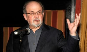 Salman Rushdie speaks on 21 March in New York