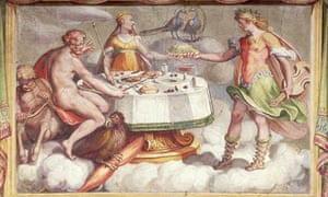 Painting of the Marriage Feast of Jupiter and Juno