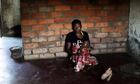 Loveness Sitima, now aged14, at her home in Simaewa, Malawi