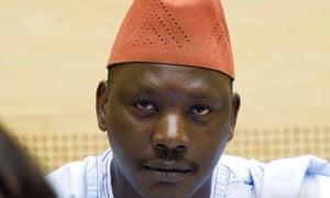 Congolese warlord Thomas Lubanga