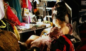 The Ladyboys Of Bangkok Perform At Edinburgh Festival