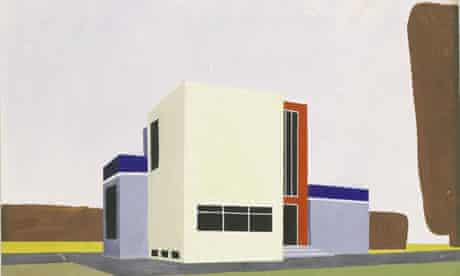 Farkas Molnár's Design for a family house (1922)