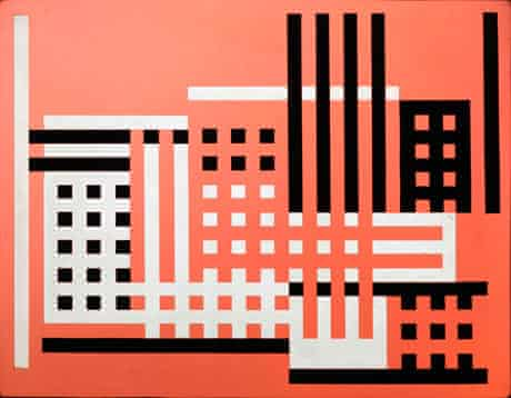 Factory A by Josef Albers