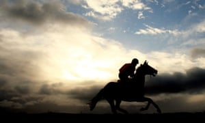 An early-morning gallop