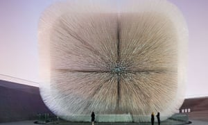 Seed Cathedral, the UK pavilion at Expo 2010