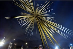 The 'B of the Bang' sculpture