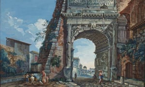 Arch of Titus by unknown artist (1770s)
