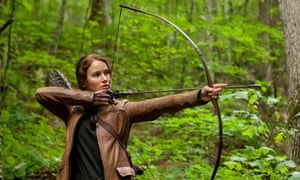 Taking aim … fans of The Hunger Games have come down hard on US writer Stanley Fish.