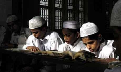 Children reading the Qur'an