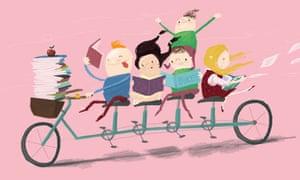 Book bike by Sami Al-Adawy