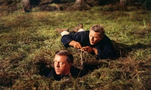 Tunnel vision … Richard Attenborough and Steve McQueen in The Great Escape.