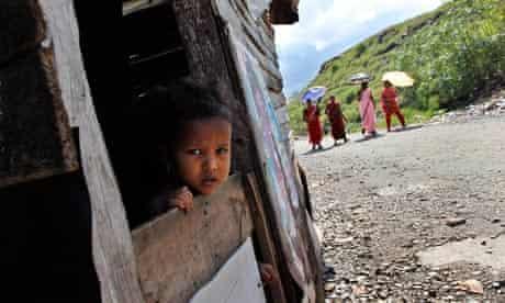 Sri Lankan child