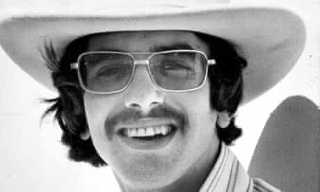 Van Dyke Parks in  1970 wearing sunglasses and cowboy hat