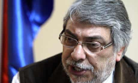Paraguay's ousted president, Fernando Lugo