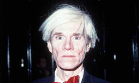 Fame academy … Andy Warhol in New York in 1981.