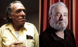 Charles Bukowski and Stephen Sondheim