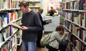 Oxfam book store in Nottingham