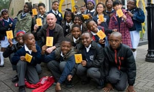 Nick Hornby and Children's Republic of Shoreditch