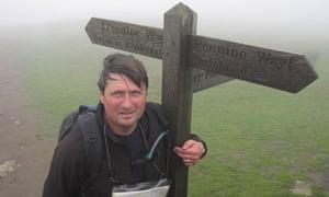 Simon Armitage on the Pennine Way
