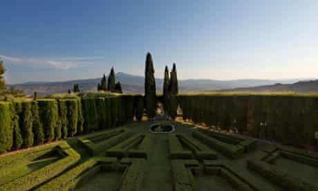 Garden estate … La Foce, the Tuscany home of Iris Origo and her husband Antonio.