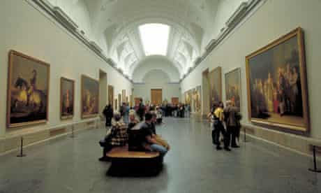 Madrid's Prado Museum. Leaving the Atocha Station focuses on an American student living in Spain.