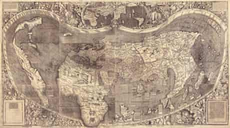 Martin Waldseemuller's map of 1507