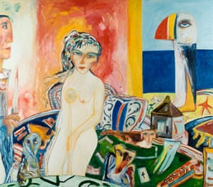 Song Bird by John Bellany