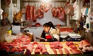 Butcher in Beijing
