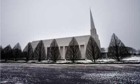 mormon temple in chorley, lancashire