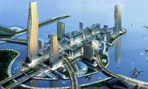 An artist's impression of King Abdullah Economic City in Jeddah
