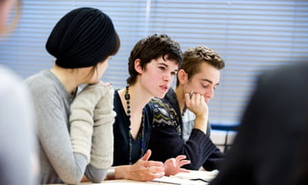 Novel approach … creative writing students at UEA (for Nicholas Royle – First Novel)