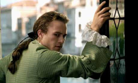Heath Ledger as Casanova