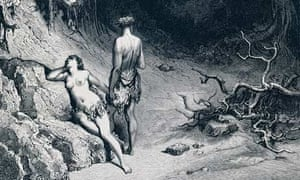 Detail from an 1866 Gustave Dore engraving of John Milton's Paradise Lost.