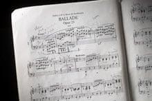 The score to Ballade No 1.
