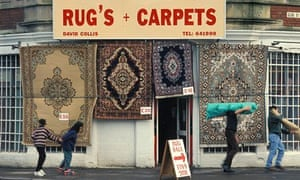 Rug's and Carpets shop, grammatical error