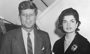 John F Kennedy with Wife Jackie Kennedy