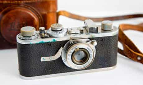 Henri Cartier-Bresson's Leica camera.