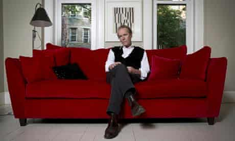 Martin Amis at home in Brooklyn